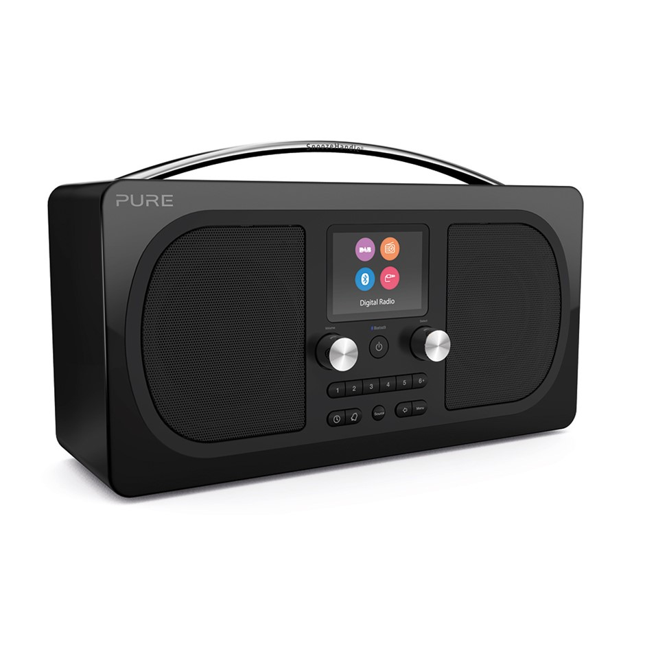 Pure Evoke H6 Prestige Edition Radio - Black