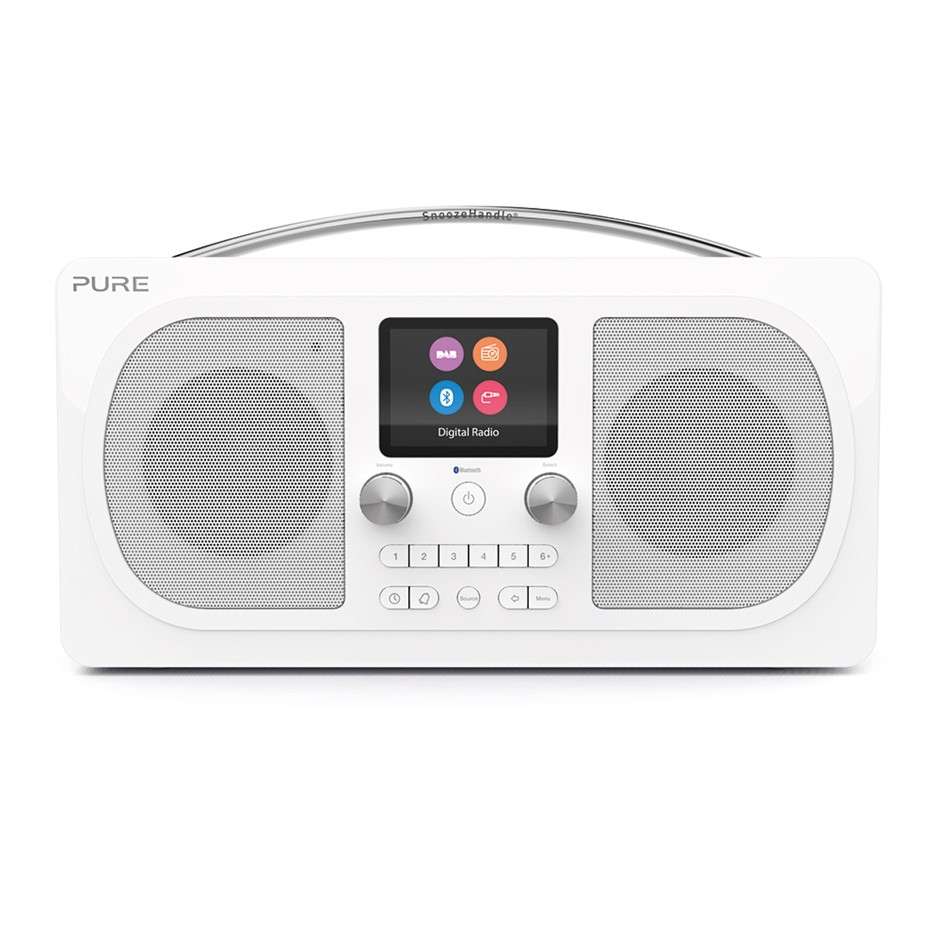 Pure Evoke H6 Prestige Edition Radio - White