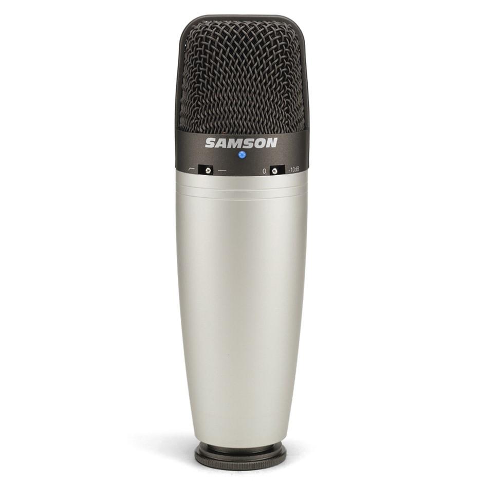 Samson C03 Multi-Pattern Studio Condenser Microphone w/ Pad