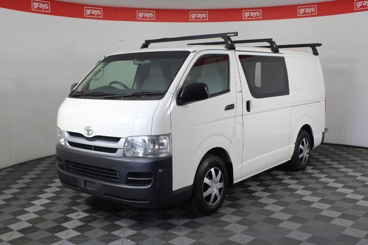 (COMP 2009) Toyota Hiace LWB KDH201R Turbo Diesel Manual Van