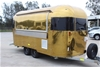 Gold Airstream (replica) Trailer Kitchen Catering Van