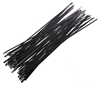 Pack of 50pc x Coated Stainless Steel Cable Ties, 4.6 x 400mm, Grade 304. (