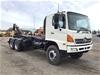 <p>2010 Hino FMJ1 6 x 4 Hooklift Truck</p>