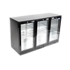 Unused Eastpoint Triple Glass Door Back Bar Cooler BF-308H