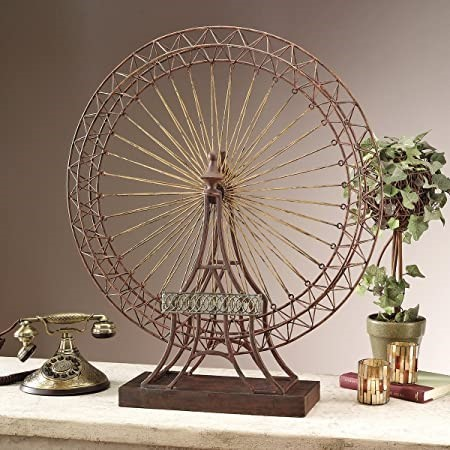 DESIGN TOSCANO The Grande Exposition Ferris Wheel Statue Hand-crafted Dimen