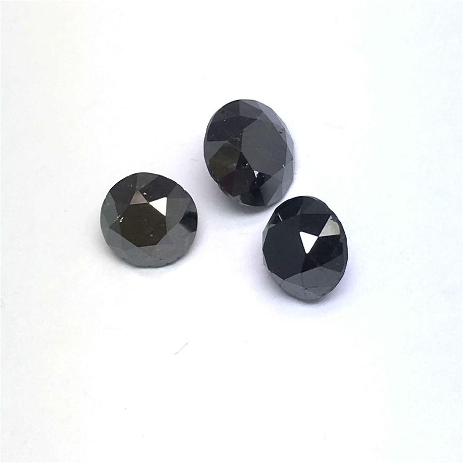 Three Loose Diamond, 3.95ct in Total