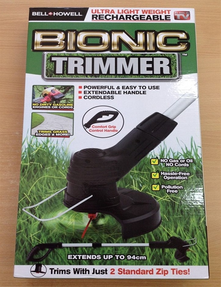 Qty 14 x Bell Howell Bionic Grass And Edge Trimmer