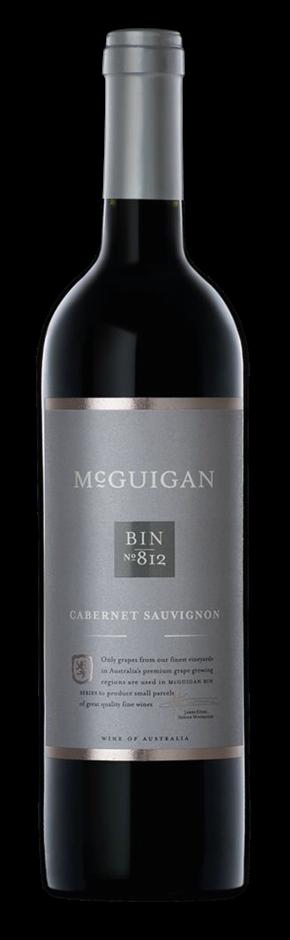 McGuigan Bin 812 Cabernet Sauvignon 2016 (6 x 750mL) SA