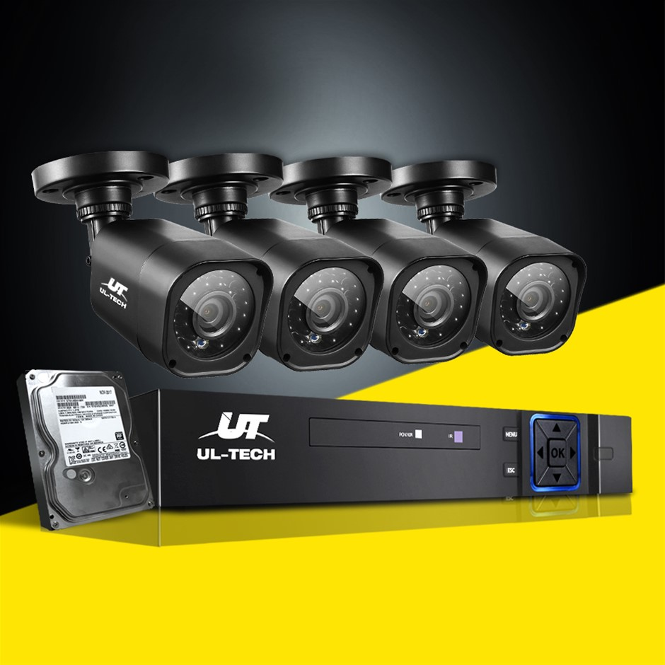 UL-tech CCTV Camera Home Security System 8CH DVR 1080P Cameras Outdoor