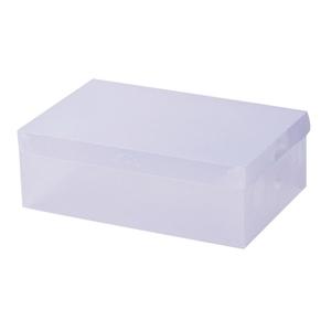 40pcs Clear Shoe Storage Box Transparent