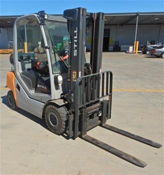 2016 Still RX70-25T 4 Wheel Counterbalance Forklift