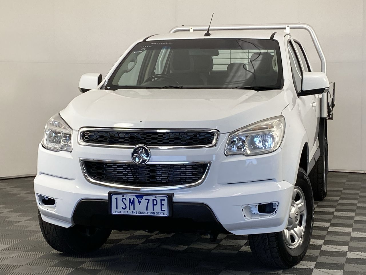 2016 Holden Colorado 4X4 LX RG Turbo Diesel Automatic Crew Cab Chassis