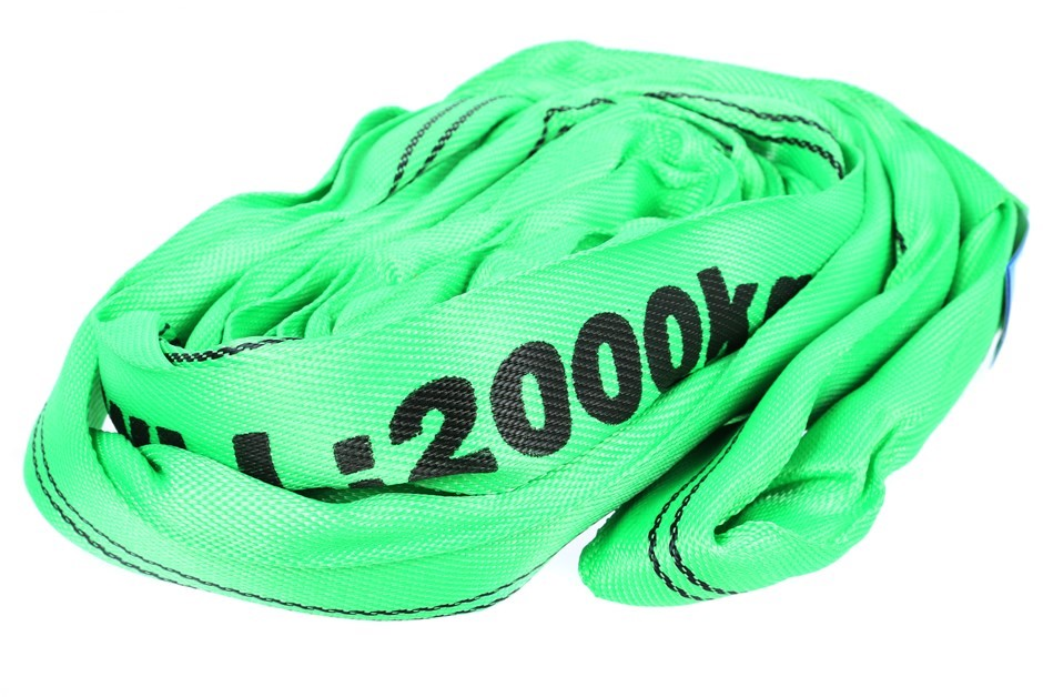 Round Lifting Sling, WLL 2000 x 2.5M (With Test Cert). Buyers Note - Discou