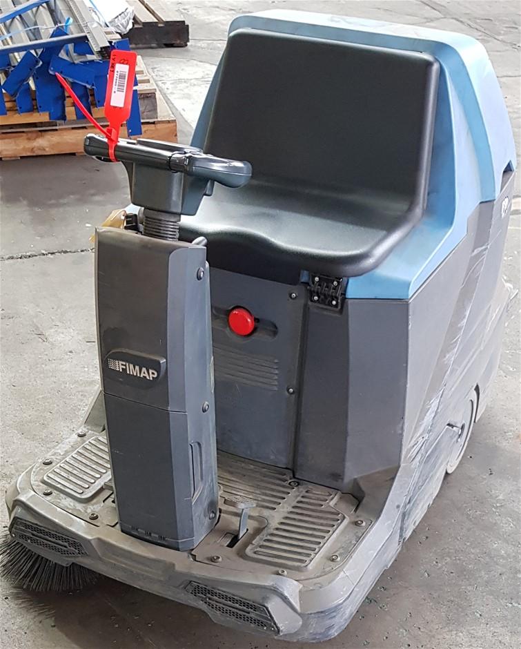 2014 Fimap FSR B CB 25L Electric Ride On Floor Sweeper