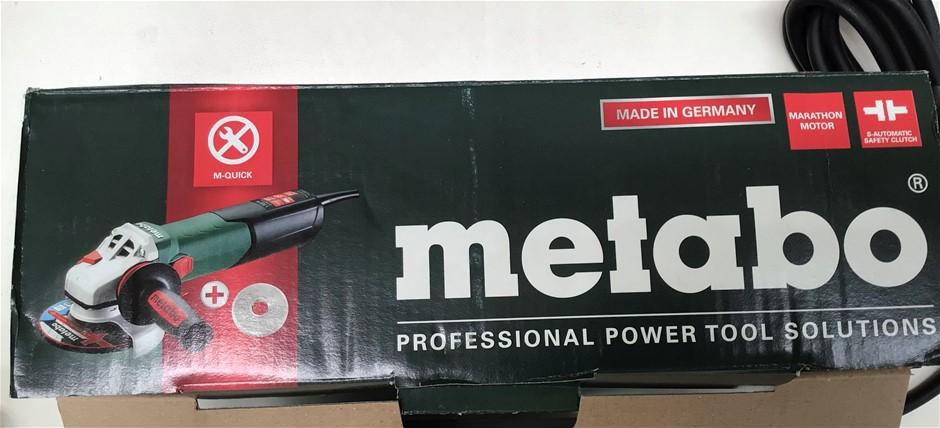 Metabo WEV 15-125 Corded Angle Grinder