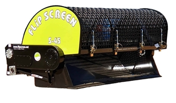 New Skid Steer & Excavator Flip Screen Attachments