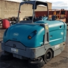 Tennant S30 Gas Ride On Floor Sweeper