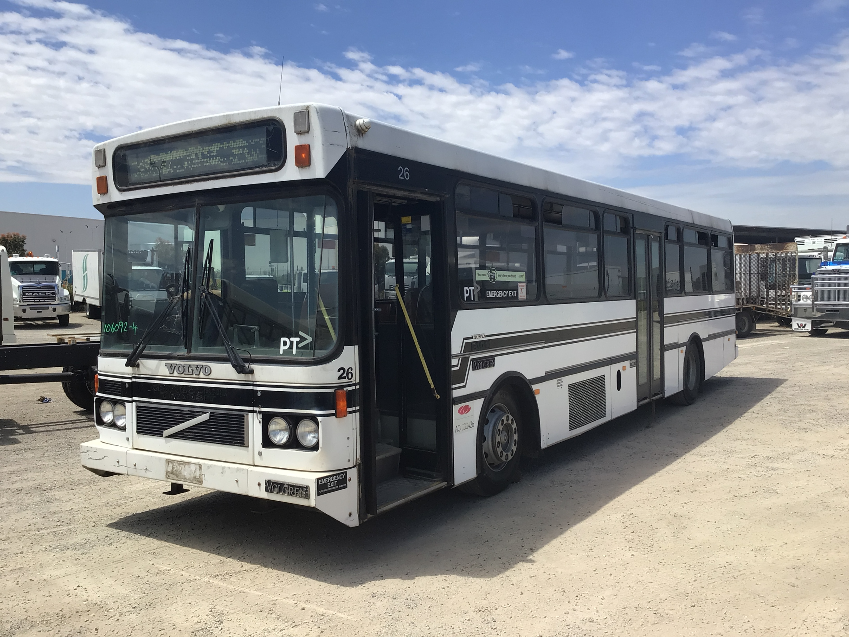 1994 Volvo BM10 4 x 2 Bus