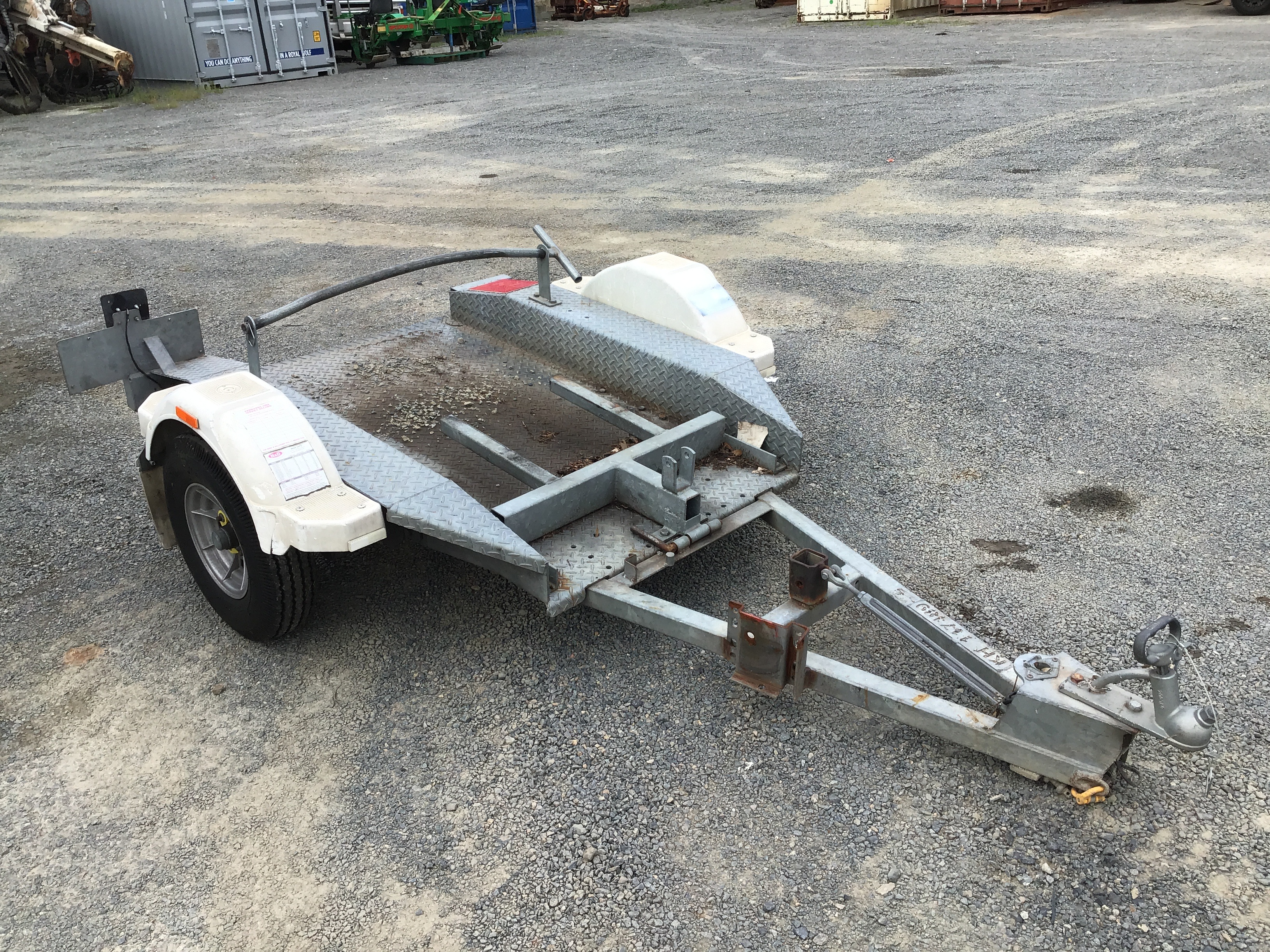 2007 Bullant SML Tilt Single Plant Trailer