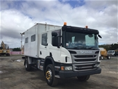 ASSET FOR SALE - 2018 Scania P310 4x4 Service/Lab Truck