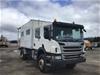 2018 Scania P310 4 x 4 Service/Laboratory Truck