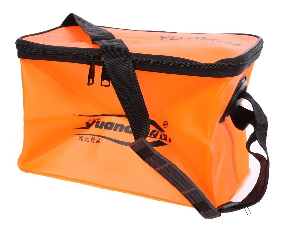 Fishing Bucket 30cm with Shoulder Strap. Buyers Note - Discount Freight Rat
