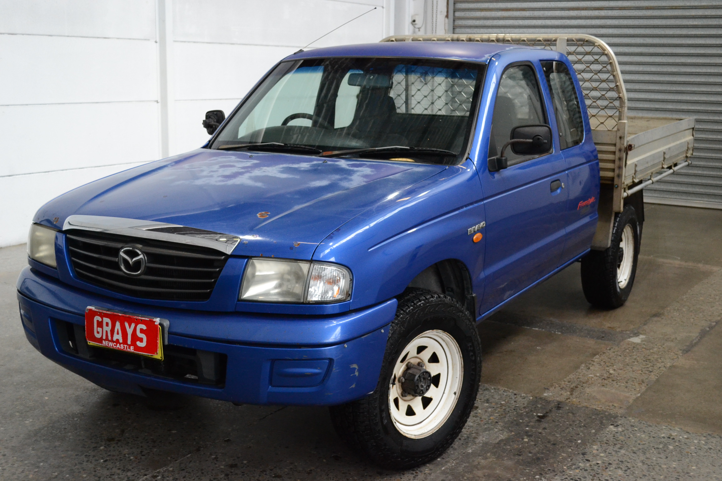 2002 Mazda B2500 Bravo DX (4x4) B2500 Turbo Diesel Manual Ute