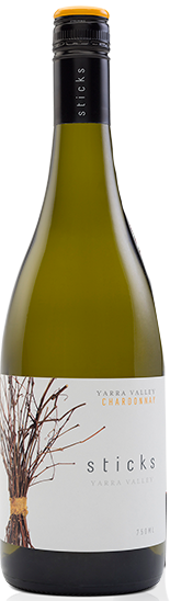 Sticks Chardonnay 2019 (6x 750mL), Yarra Valley, VIC