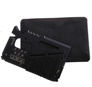 2 x EDC 16 in 1 Wallet Size Outdoor Mult