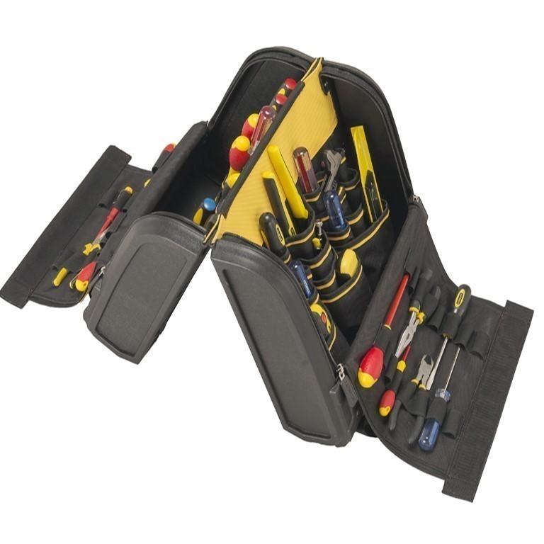 2 x STANLEY FatMax Tool Organisers, 440x390x250mm w/ Tools & Socket Compart
