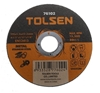 50 x TOLSEN Type 41 Flat Cut-Off Wheels, 115x1.2x22.2mm, Max RPM 13300. (SN