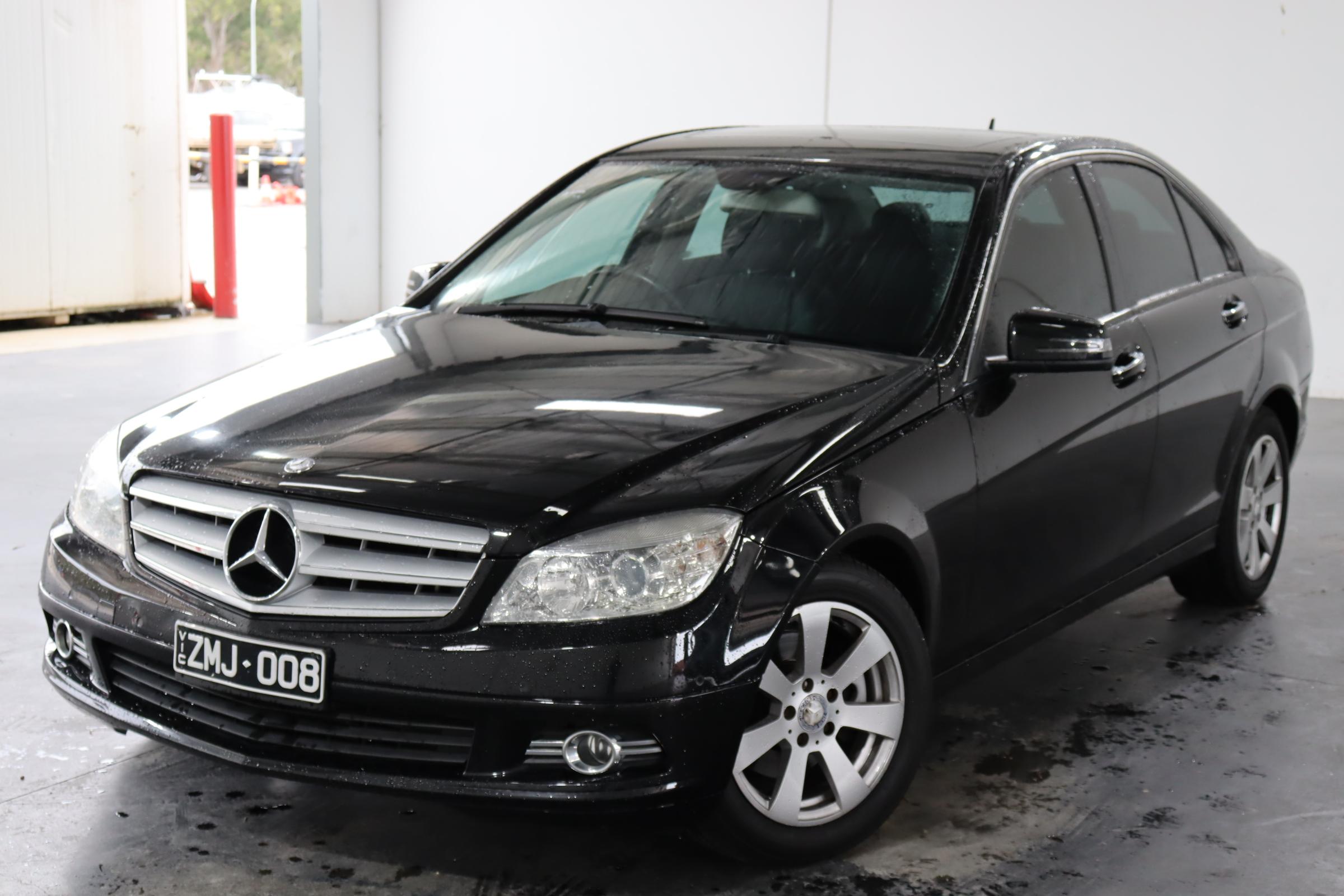 2008 Mercedes Benz C200 Kompressor Classic W204 Automatic Sedan