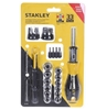 STANLEY 33pcs Ratcheting Screwdriver Set c/w 4-in-1 Pocket Driver. Buyers N