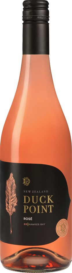 Duck Point Rose 2020 (12 x 750mL) Hawkes Bay, NZ
