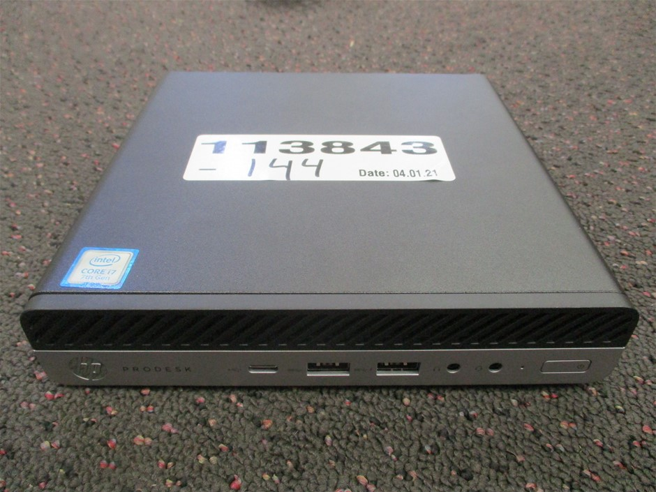 HP ProDesk 600 G3 DM Mini PC