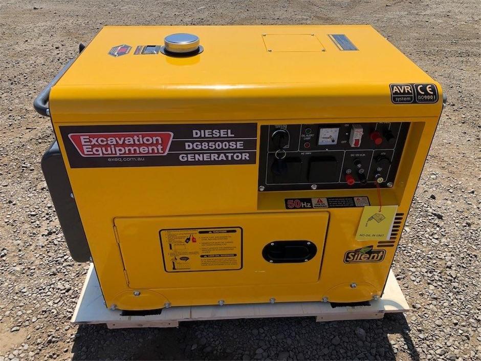 2021 Unused 6 kW Silenced Diesel Engine Generator