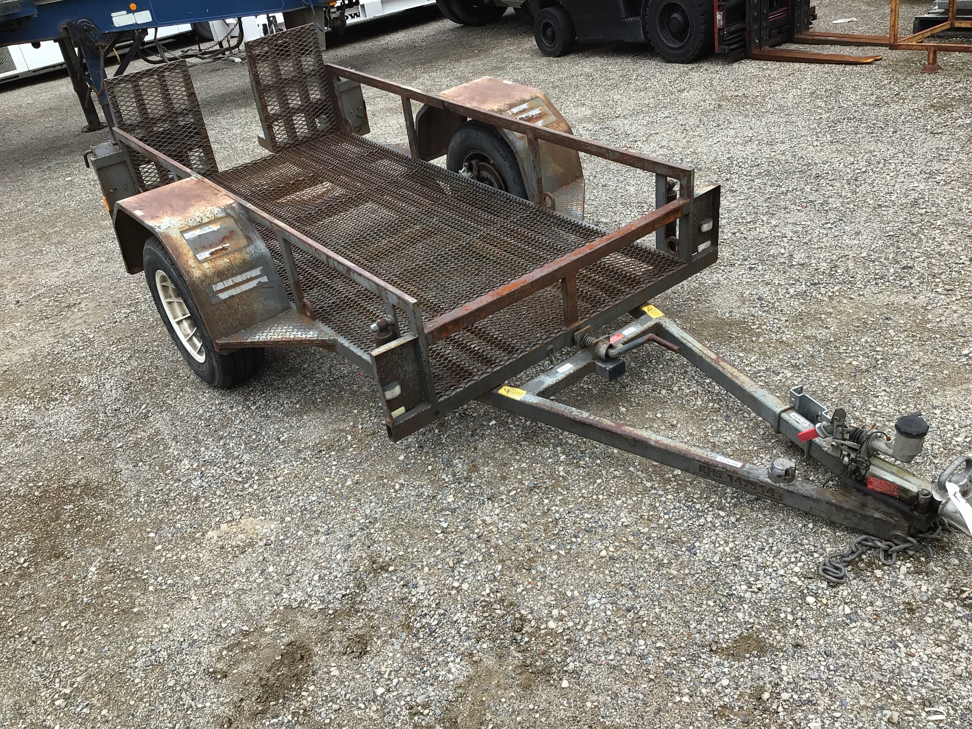 2001 Trailer Factory EHD Plant Trailer