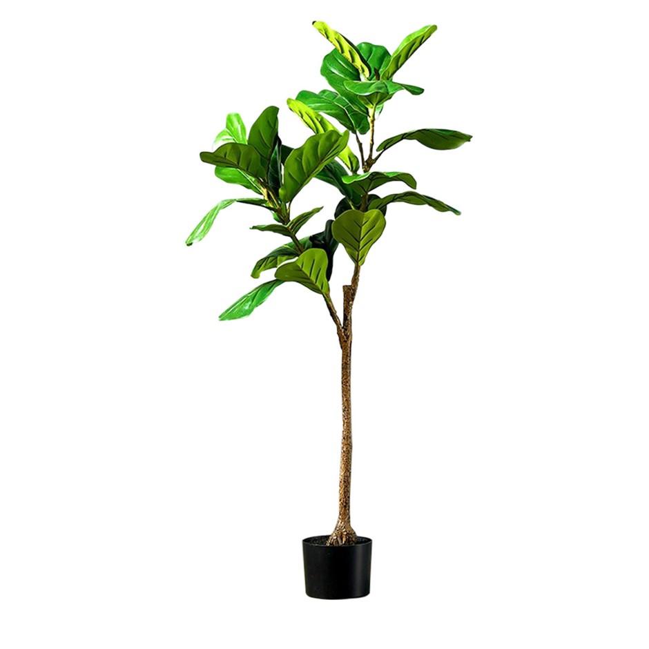 SOGA 120cm Artificial Qin Yerong Tree Fake Plant Simulation Décor