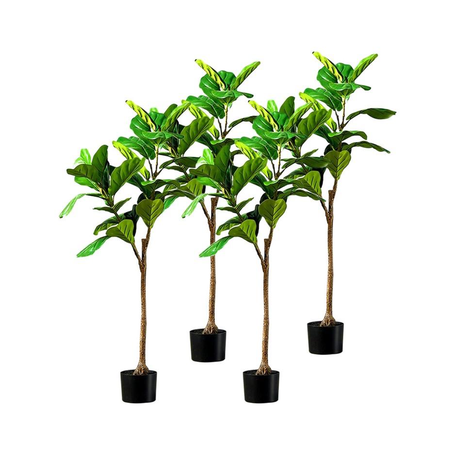 SOGA 4X 120cm Artificial Qin Yerong Tree Fake Plant Simulation Décor
