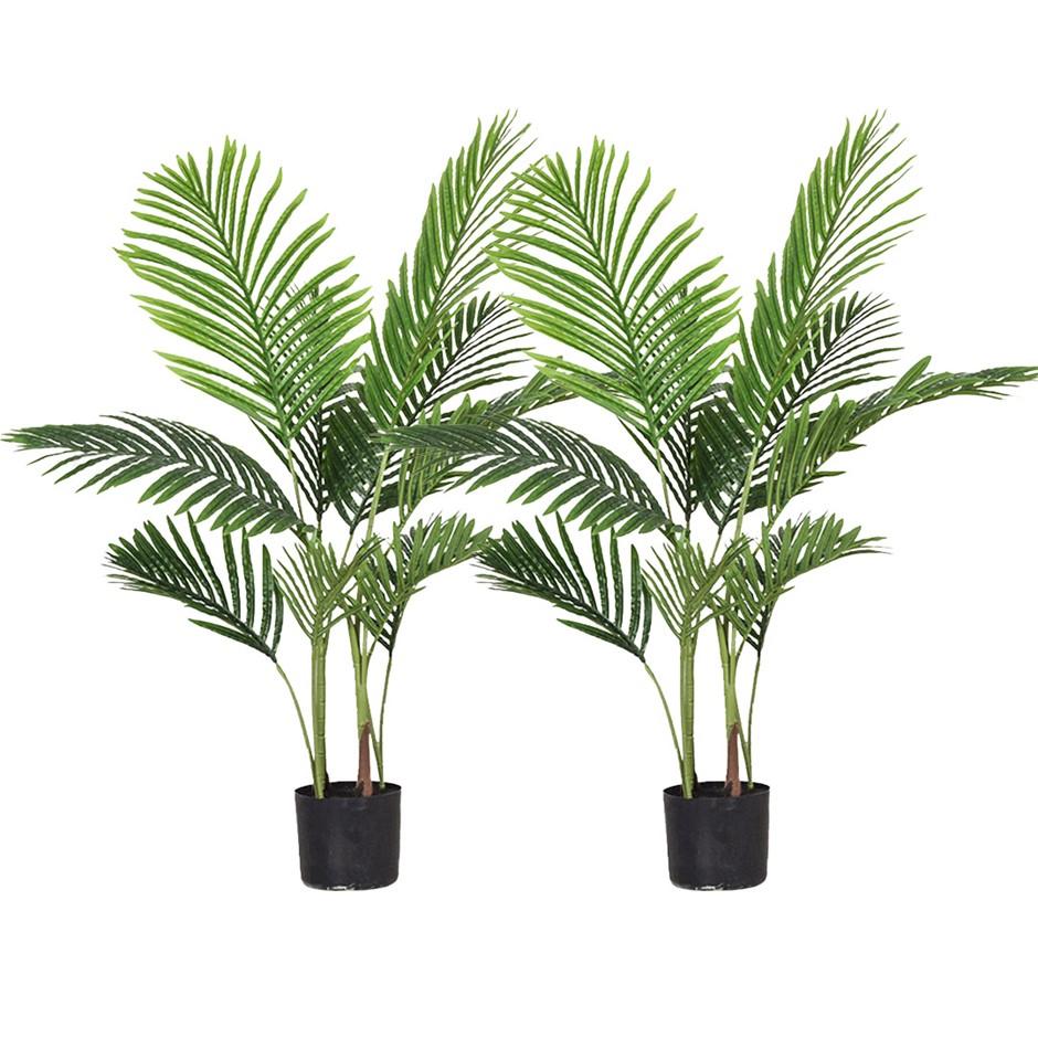SOGA 2X 145cm Artificial Swallowtail Sunflower Tree Fake Plant Simulation