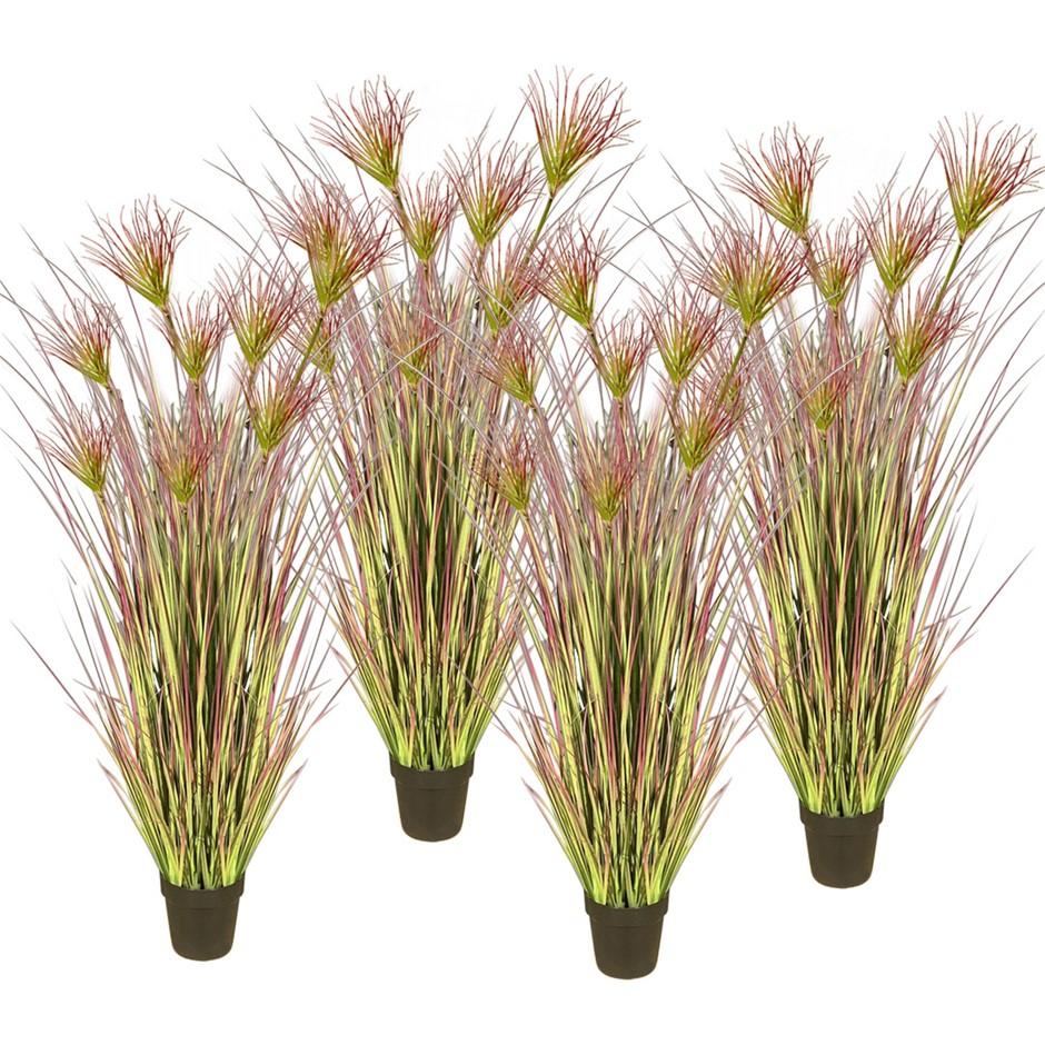 SOGA 4X 150cm Artificial Potted Papyrus Plant Fake Simulation Decor