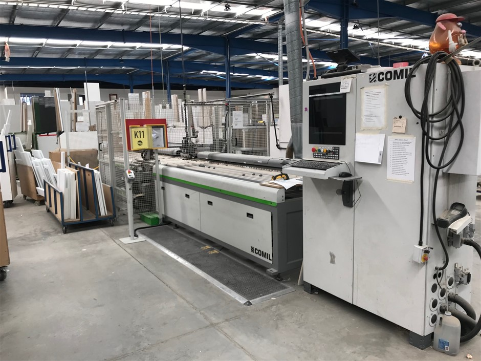 Used Biesse Comil Insider CNC Drilling-Inserting Machine