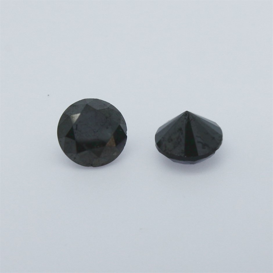 Two Loose Diamond, 3.20ct in Total