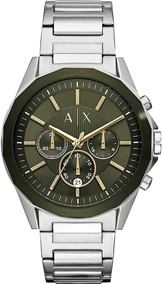 Vintage-inspired new Armani Exchange Chronograph Men's Watch