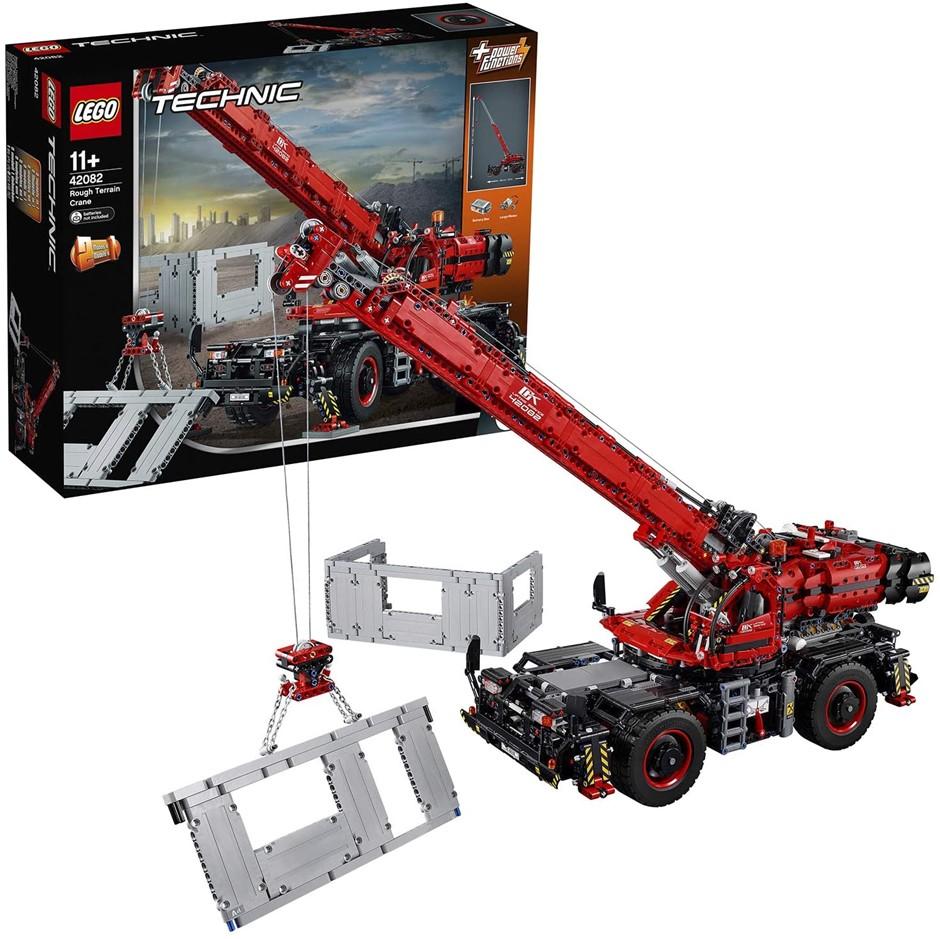 LEGO Technic Rough Terrain Crane 42082 Playset Toy