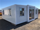 Unreserved Unused Expandable 20ft Container House