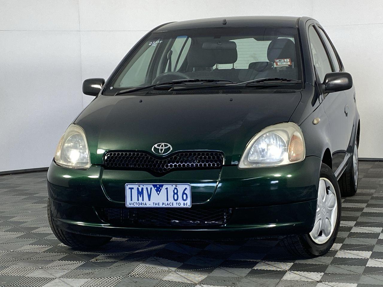 2001 Toyota Echo NCP10R Manual Hatchback