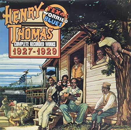 HENRY THOMAS ``Complete Recorded Works 1927-1929``. VINYL. LIMITED EDITION.