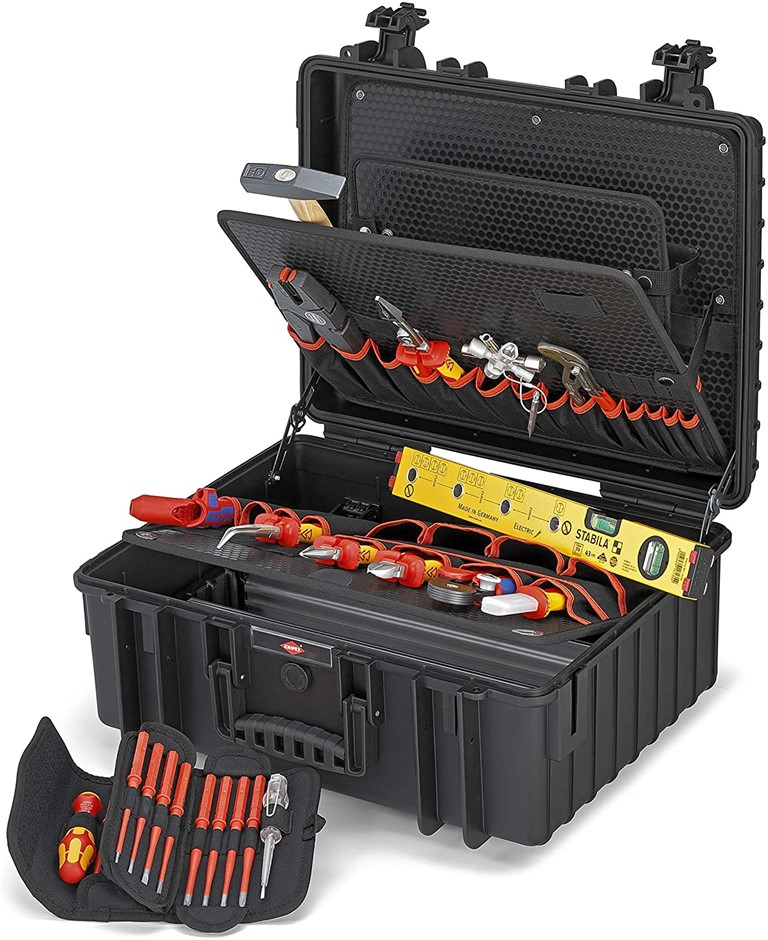 Knipex 00 21 36 Tool Case Robust34 Electric 26 Parts