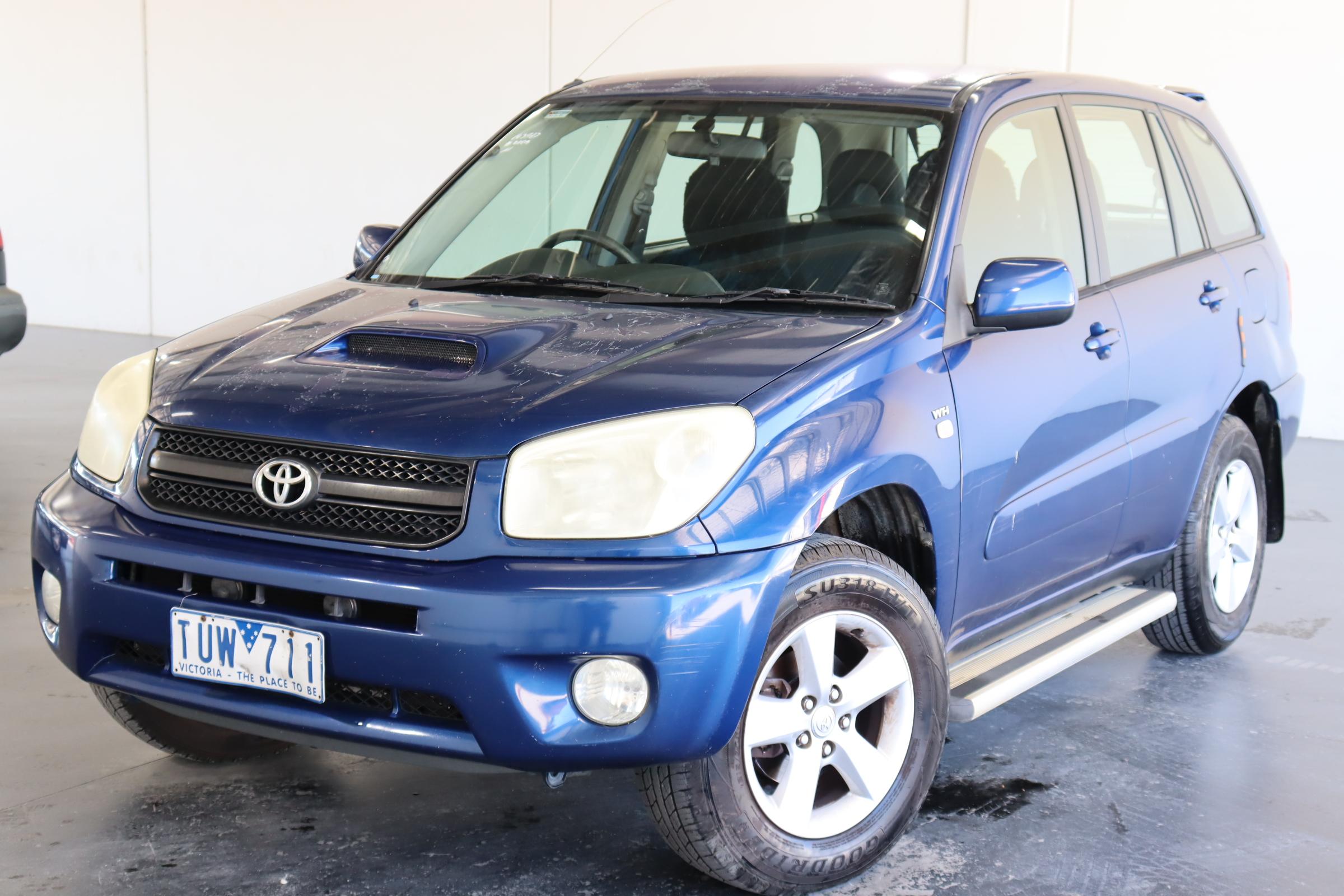 2005 Toyota Rav 4 CV (4x4) ACA23R Automatic Wagon